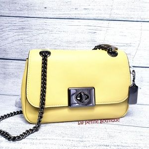 Coach Leather Mini Cassidy Crossbody